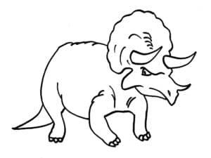 динозавр с бивнями