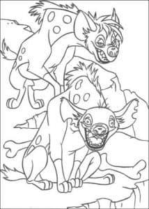 гиены из короля льва