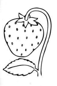 клубника с лепесточком