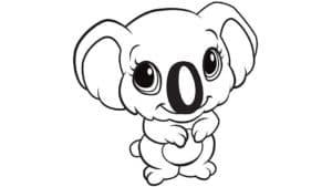 мультяшная коала