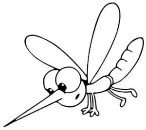 маленький комар