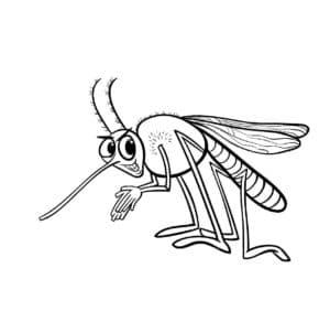 хитрый комар