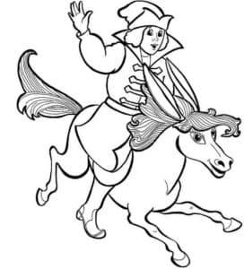 иван едет на коньке горбунке