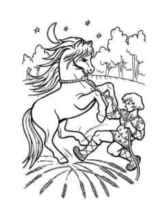 иван усмиряет конька горбунка