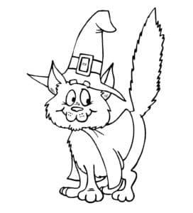 кошка в шляпе фокусника