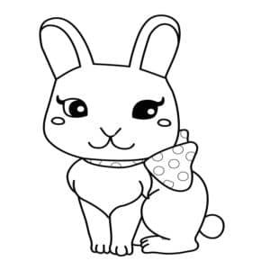 кролик аниме