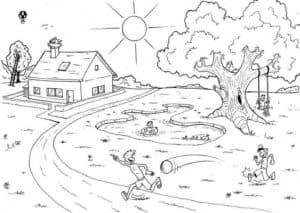 природа летом