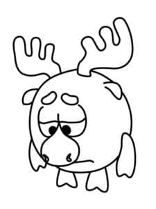 грустный лосяш