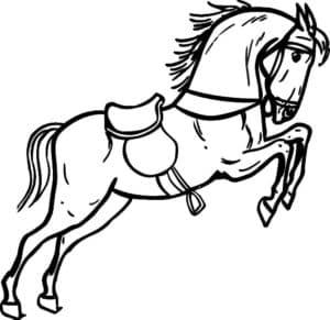 сильная лошадь
