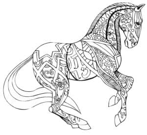 лошадь антистресс