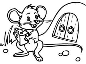 мышонок и нора