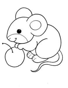 мышка и ягода