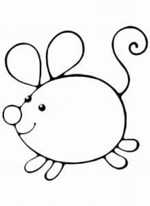 толстая мышка