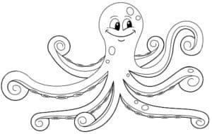 осьминог с лицом