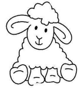 мультяшная овца