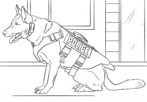 овчарка полицейская