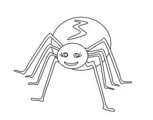 смешной паук