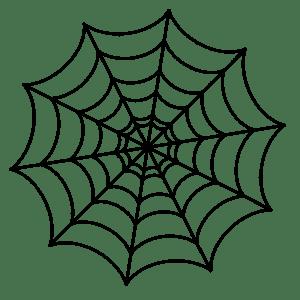 трафарет паутина