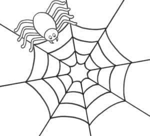 паук с зубами