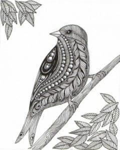 птица антистресс