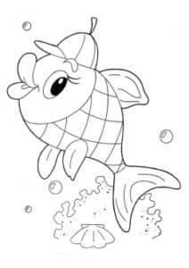 рыбка в кепке