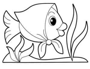 рыбка в платочке
