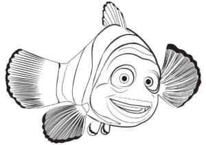 рыба из мультфильма