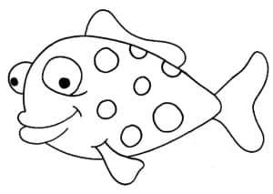 мультяшная рыбка