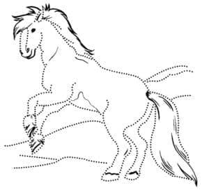 Сивка Бурка лошадка