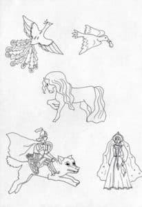 Иллюстрация Сивка Бурка