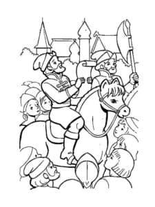 картинка из сказки Сивка Бурка