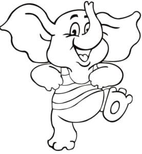 слоник в кофте