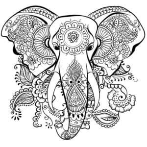 голова слона антистресс