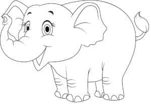 веселая слониха