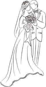 жених и невеста картинка