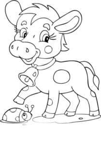 теленок и улитка
