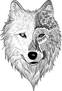 морда волка антистресс