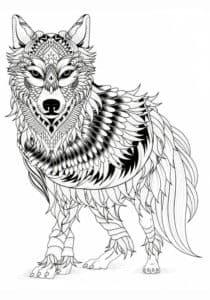 волк антистресс
