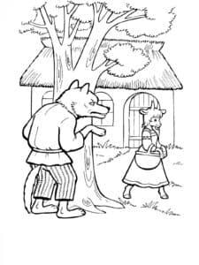 волк и козочка