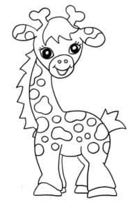 девочка жираф