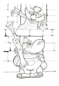 бегемот с ружьем