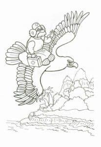 айболит на птице