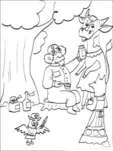 айболит и корова