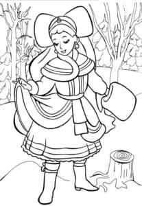 царевна в лесу