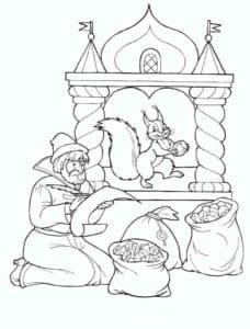 летописец и белка