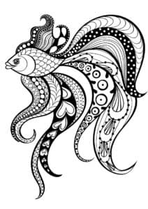 золотая рыбка антистресс