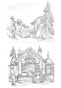 дом старика и старухи