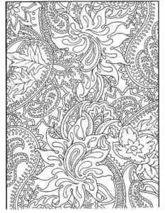 цветы и узоры картинка