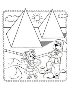 Каркуша и филя возле пирамид