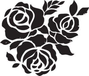 розы для декора